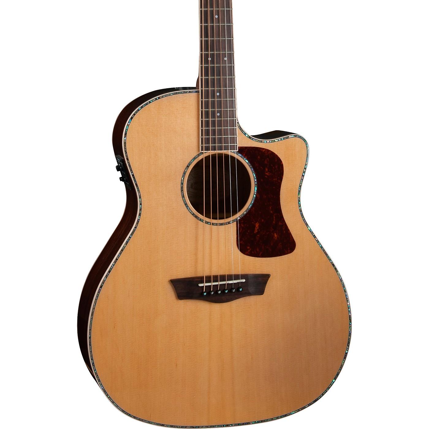 Washburn HG26SCE-O Heritage Grand Auditorium Acoustic-Electric Guitar thumbnail