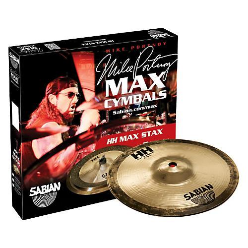 Sabian HH High Max Stax Cymbal Pack Brilliant Finish thumbnail