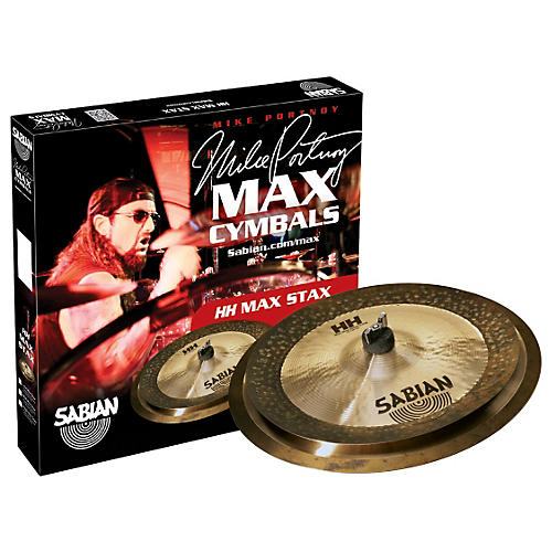 Sabian HH Low Max Stax Cymbal Pack Brilliant Finish thumbnail