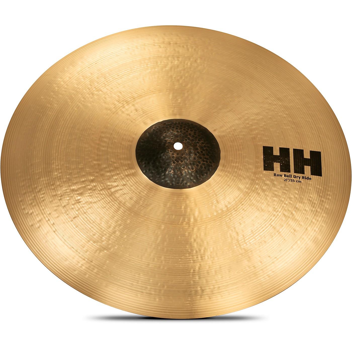 Sabian HH Series Raw Bell Dry Ride Cymbal thumbnail