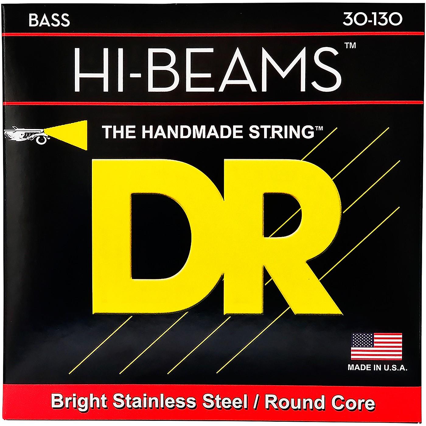 DR Strings HI Beams 6 String Bass Medium .130 Low B (30-130) thumbnail