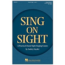 Hal Leonard HLP 08745731 SING ON SIGHT CHORAL SIGHT SINGING COURSE BOOK W/CD
