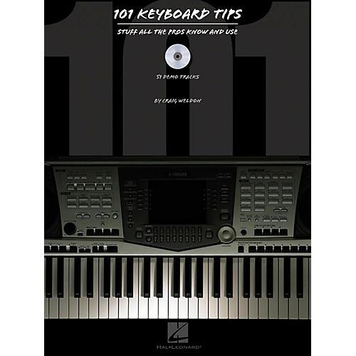 Hal Leonard HLP 310933 101 KYBD TIPS BOOK W/CD thumbnail