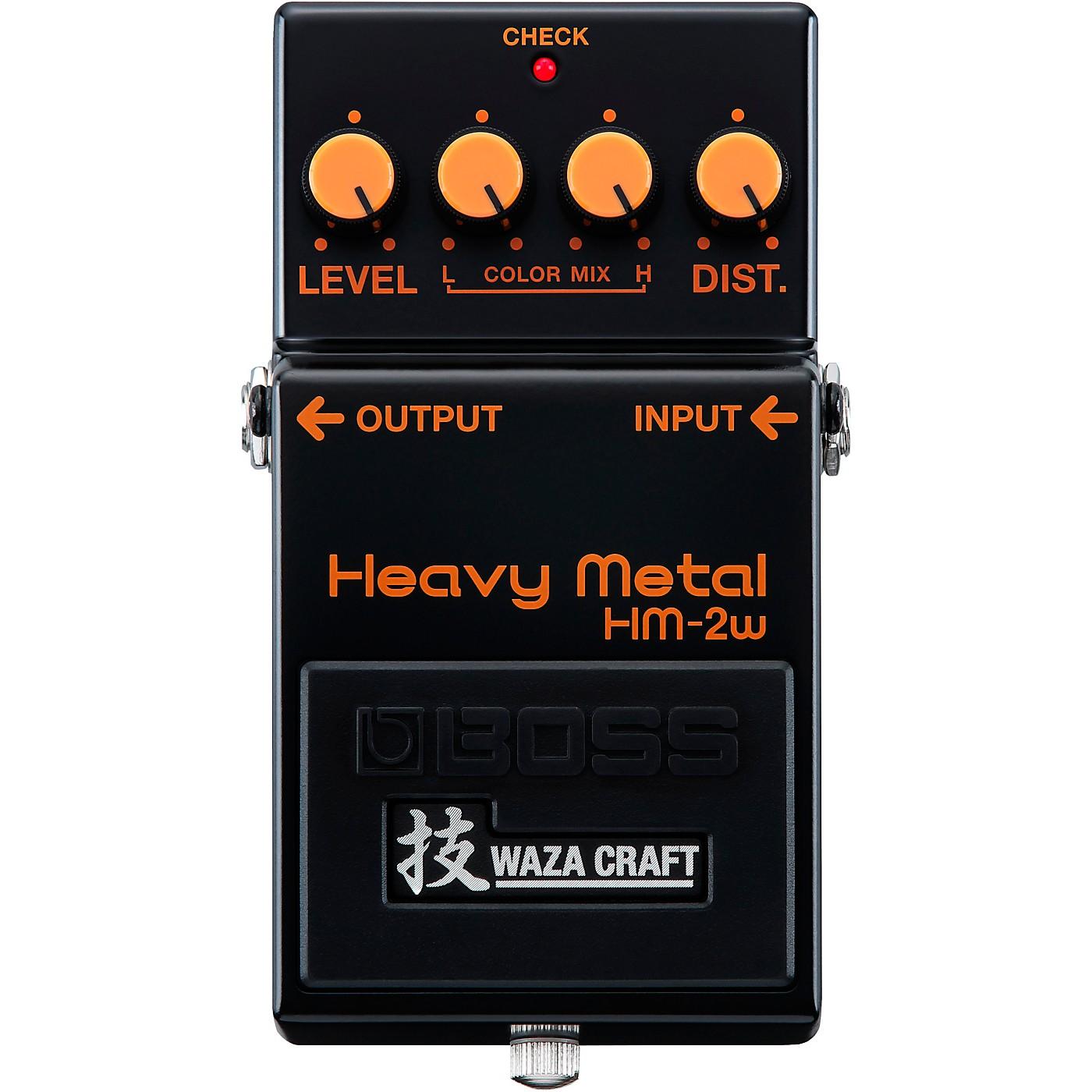 BOSS HM-2W Heavy Metal Waza Craft Distortion Effects Pedal thumbnail