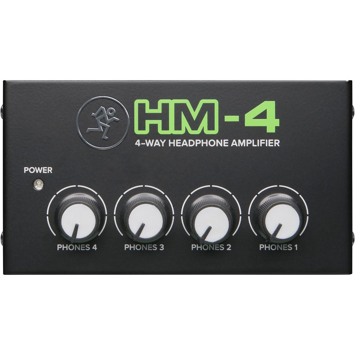 Mackie HM-4 4-Way Headphone Amplifier thumbnail