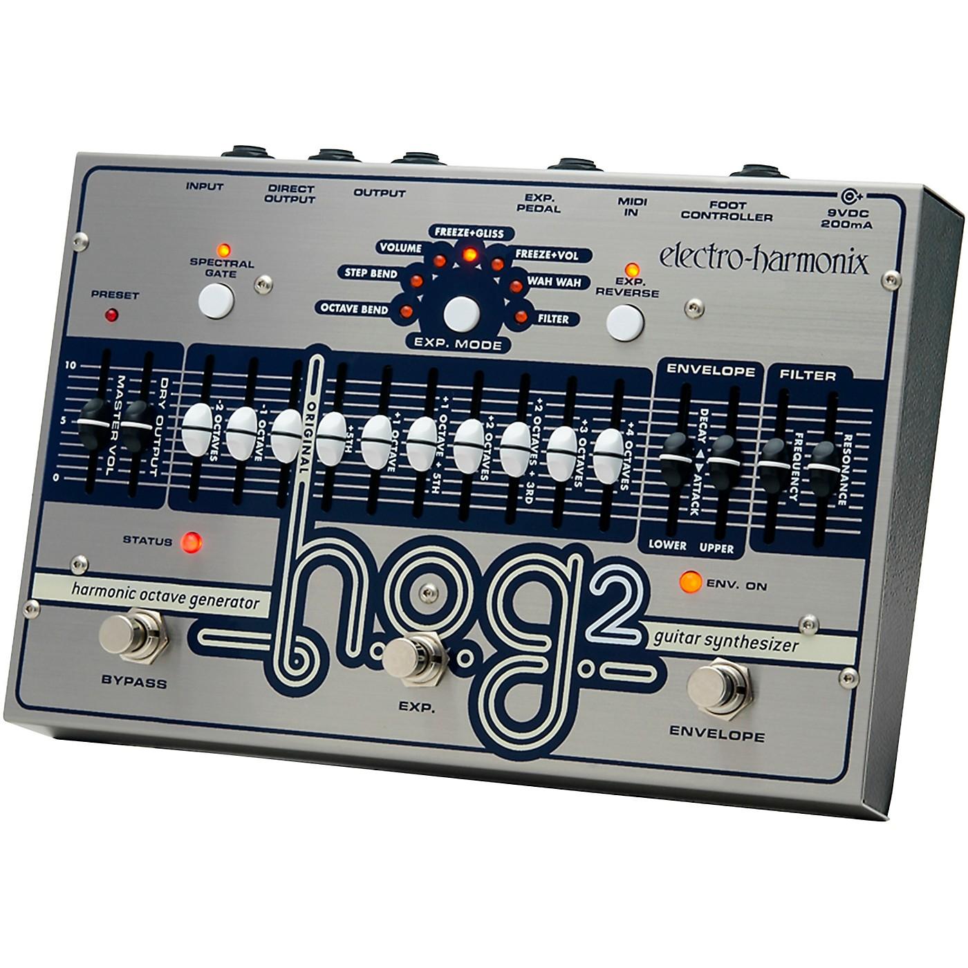 Electro-Harmonix HOG 2 Harmonic Octave Generator Guitar Effects Pedal thumbnail