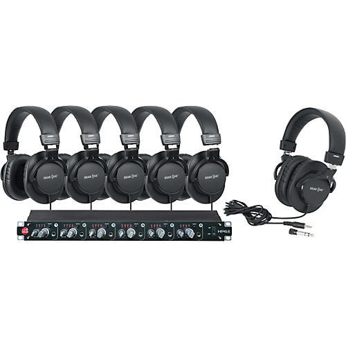 SM Pro Audio HP6E 6-Channel Headphone Amp with 6 Headphones thumbnail