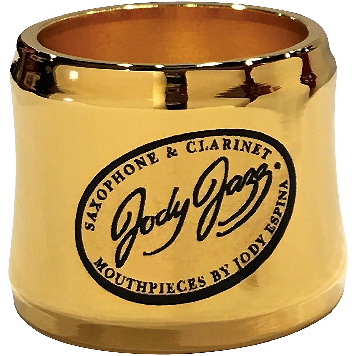 JodyJazz HRB1 Gold Power Ring Ligature for Select Baritone Mouthpieces thumbnail