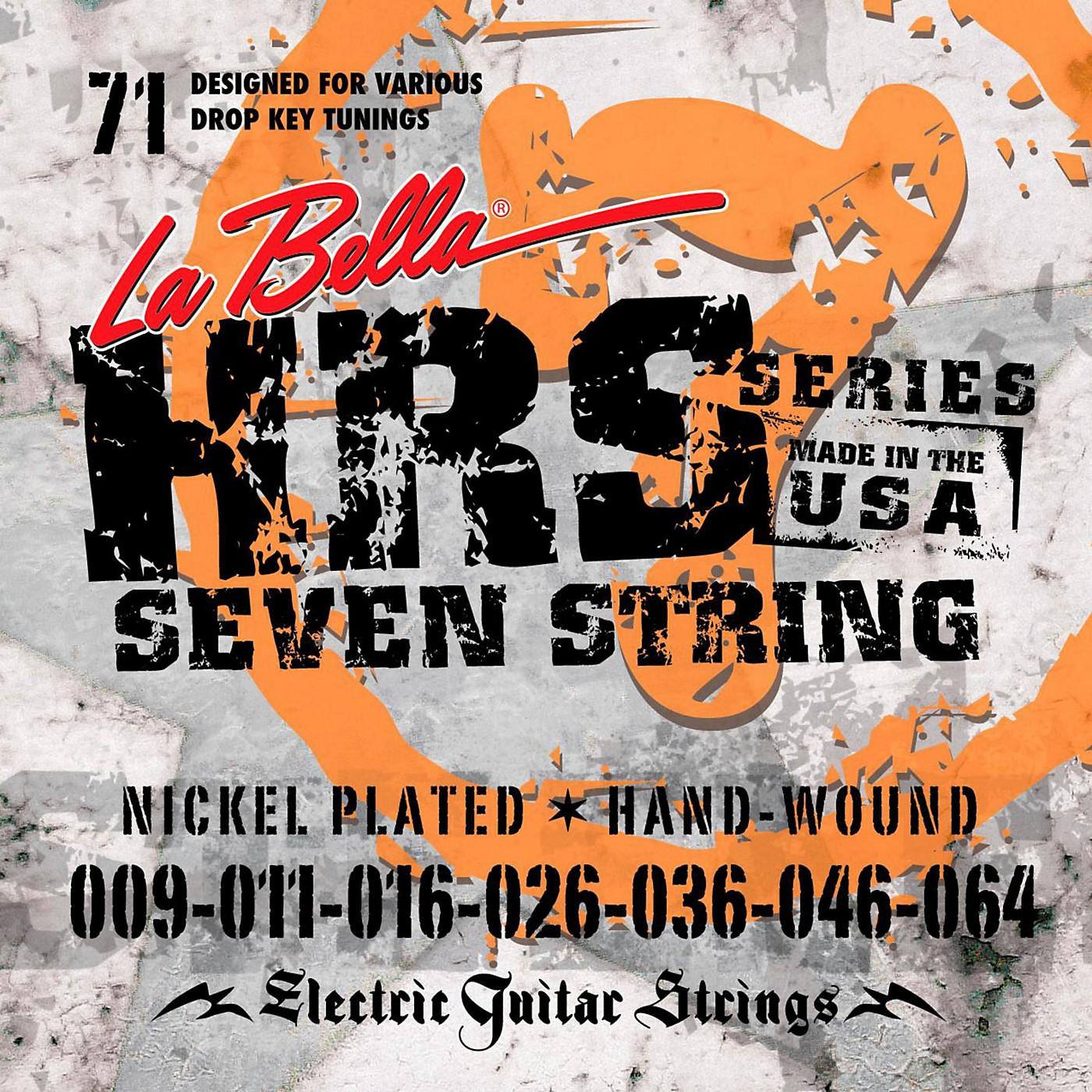 LaBella HRS-71 7-String Electric Guitar Strings thumbnail
