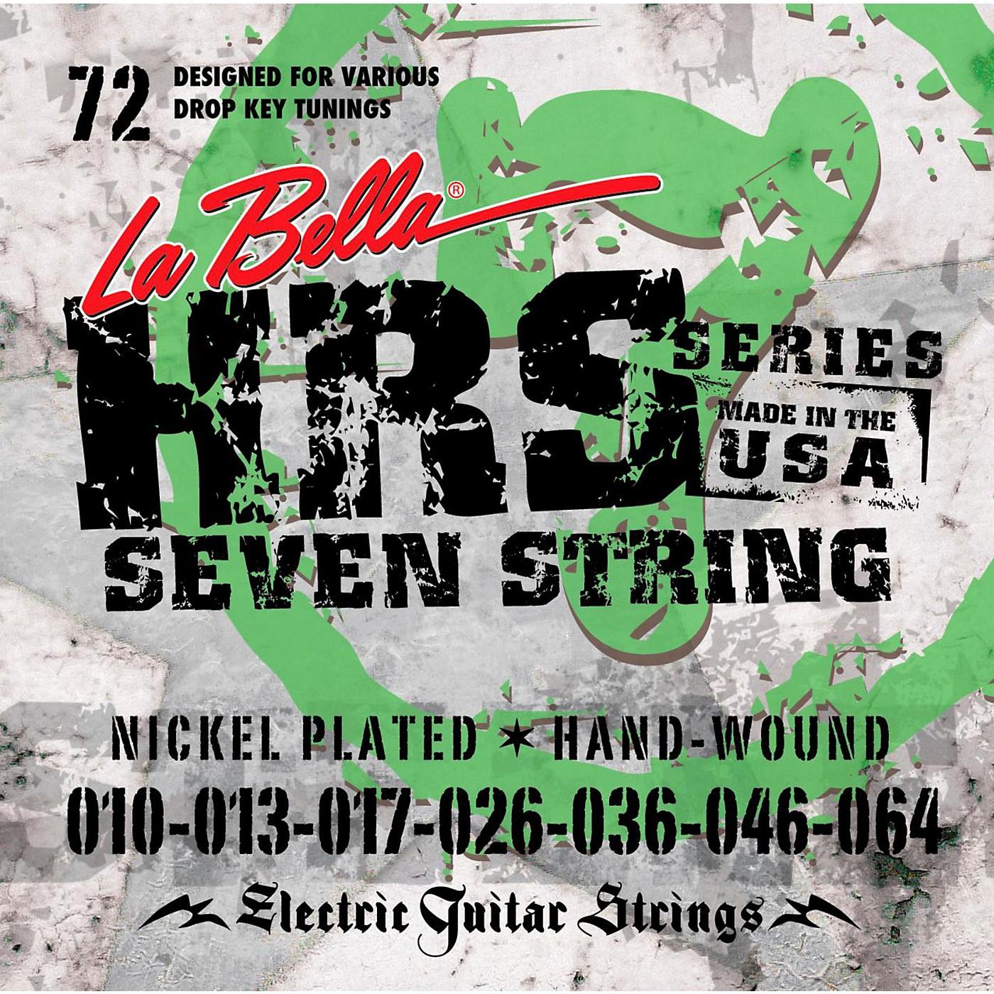 LaBella HRS-72 7-String Electric Guitar Strings thumbnail