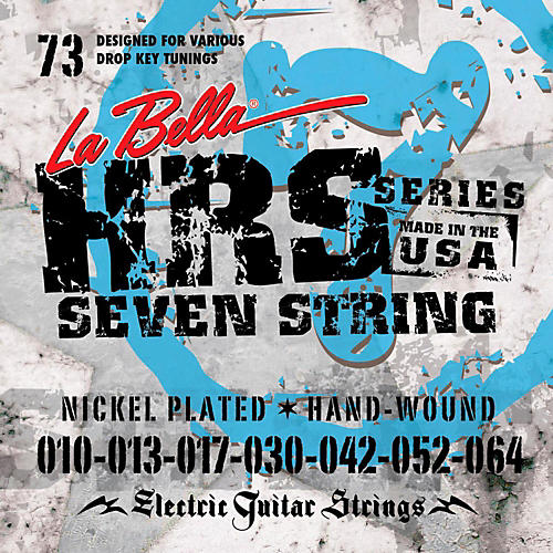 LaBella HRS-73 7-String Electric Guitar Strings thumbnail