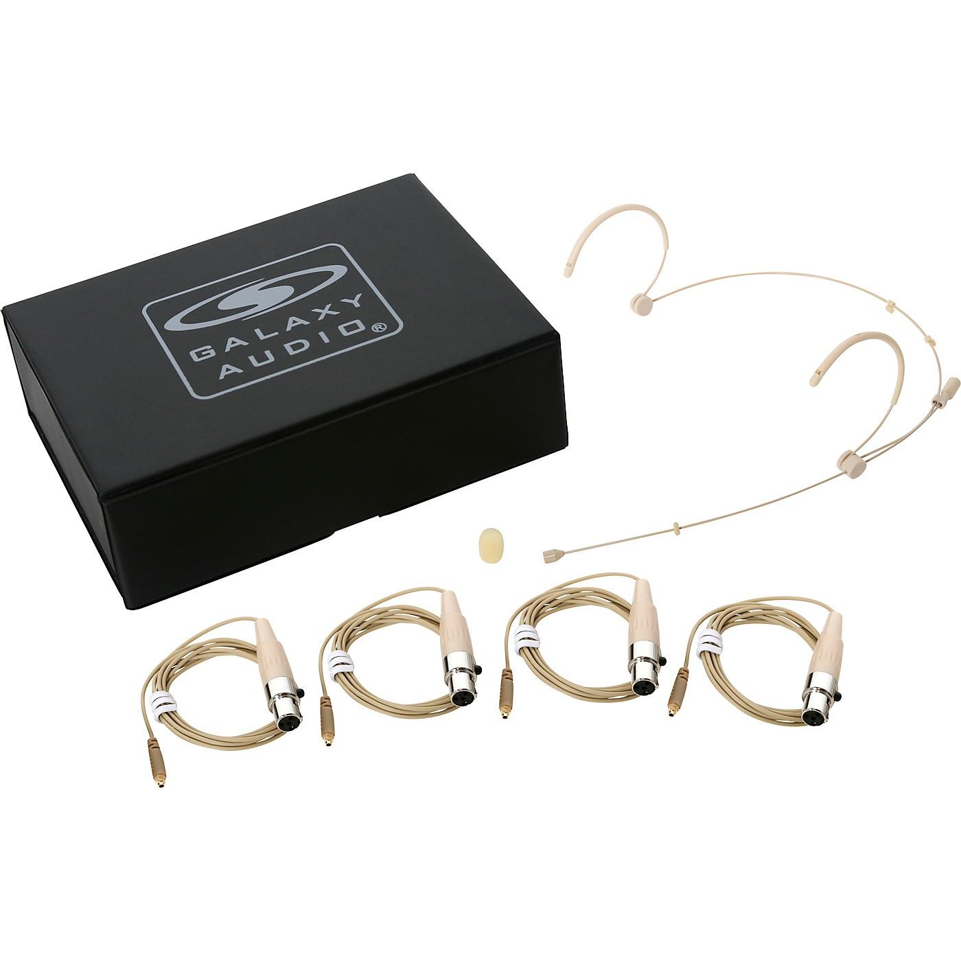 Galaxy Audio HSM3 Dual Ear Headset Microphone for Galaxy Audio/AKG Systems thumbnail