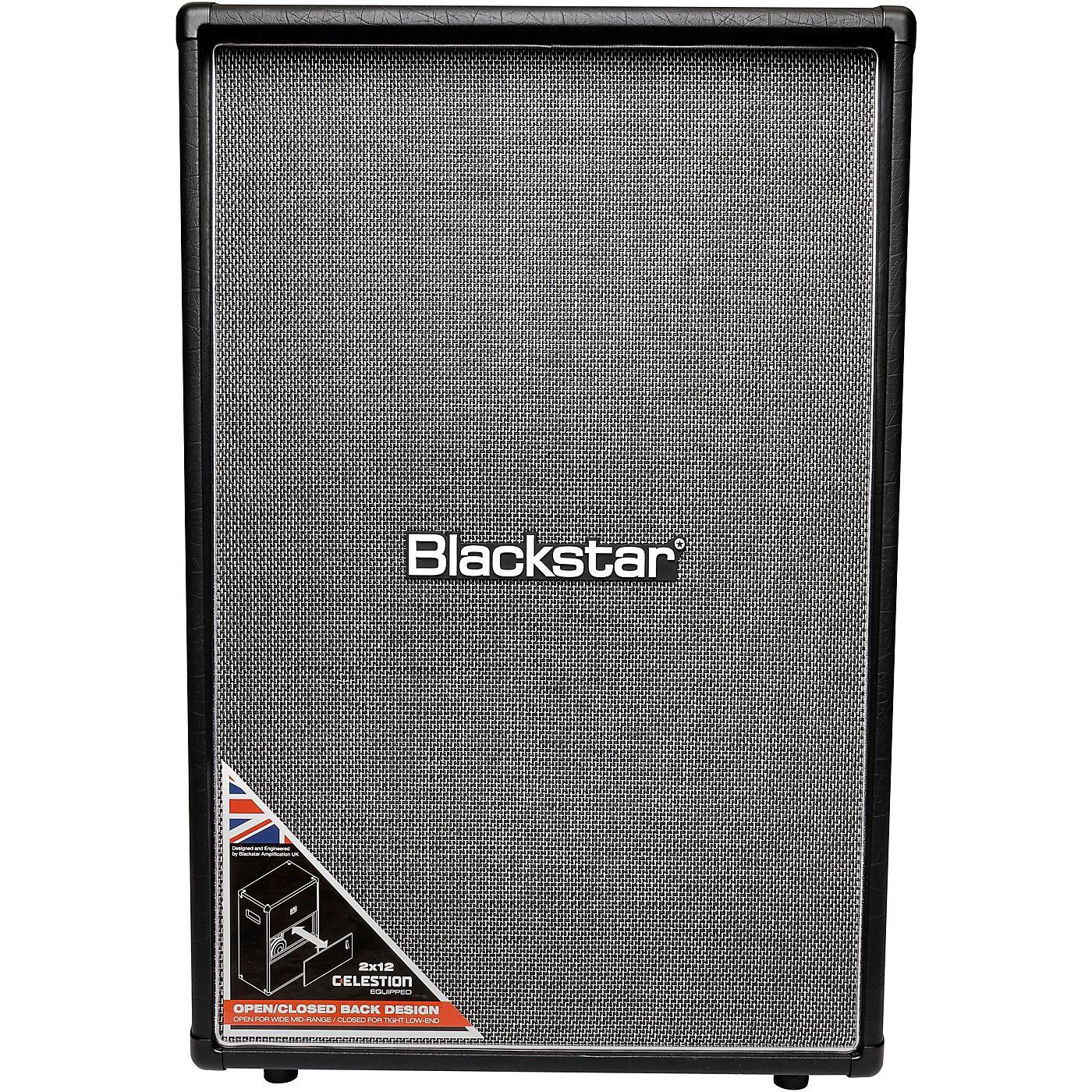 Blackstar HT212VOC MKII 160W 2x12 Vertical Guitar Speaker Cabinet thumbnail
