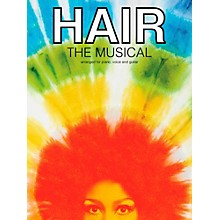 Music Sales Hair - The Musical Piano/Vocal/Guitar