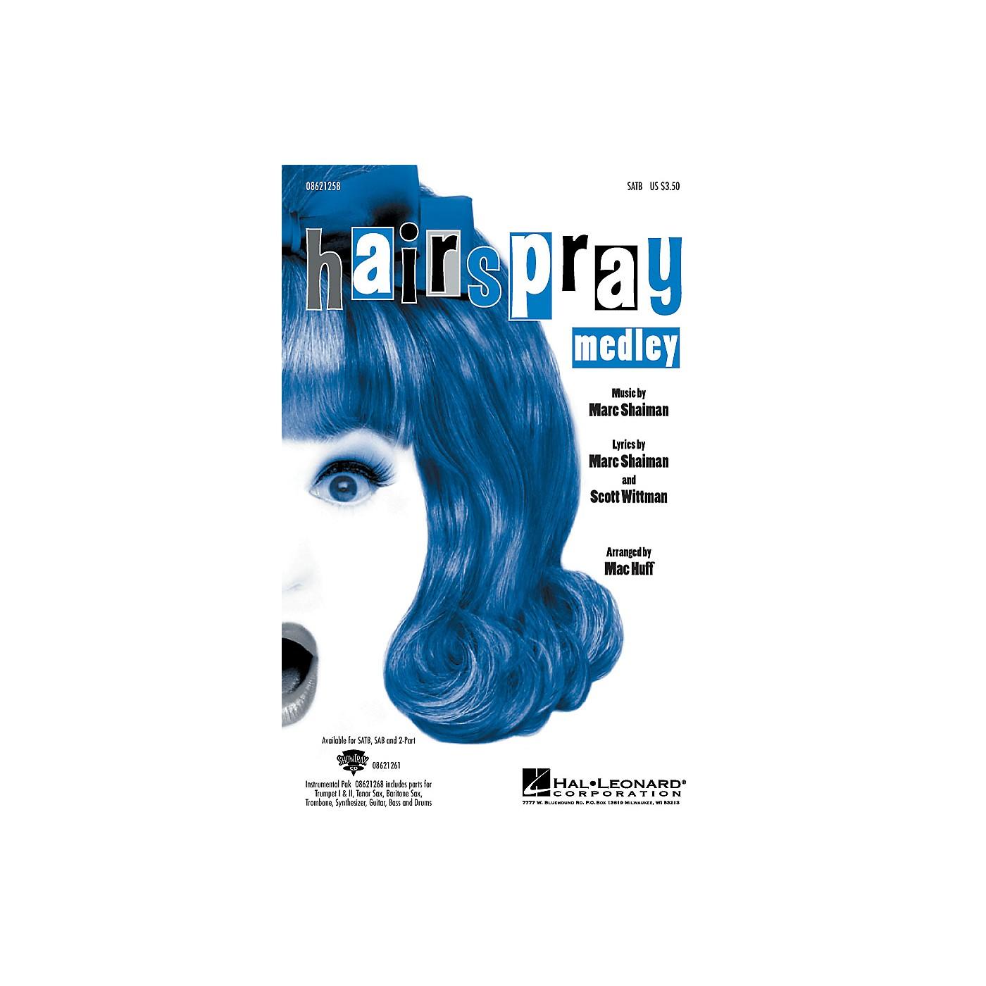 Hal Leonard Hairspray (Medley) SATB arranged by Mac Huff thumbnail