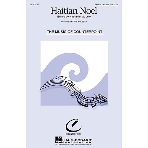 Hal Leonard Haitian Noel SSAA A Cappella thumbnail