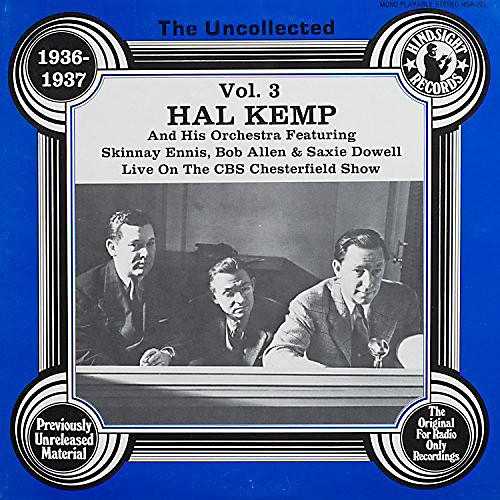Alliance Hal Kemp & Orchestra - Uncollected Volume 3 thumbnail