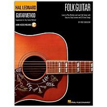 Hal Leonard Hal Leoanrd Folk Guitar Method - Learn to Play Rhythm and Lead Folk Guitar (Book/Online Audio)