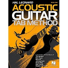 Hal Leonard Hal Leonard Acoustic Guitar Tab Method Book 1 (Book Only)