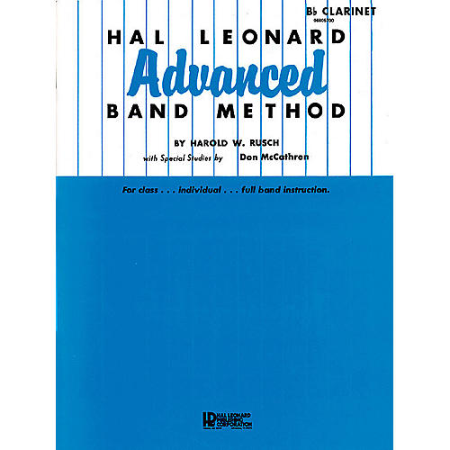 Hal Leonard Hal Leonard Advanced Band Method (B-flat Tenor Saxophone) Advanced Band Method Series by Harold W. Rusch thumbnail