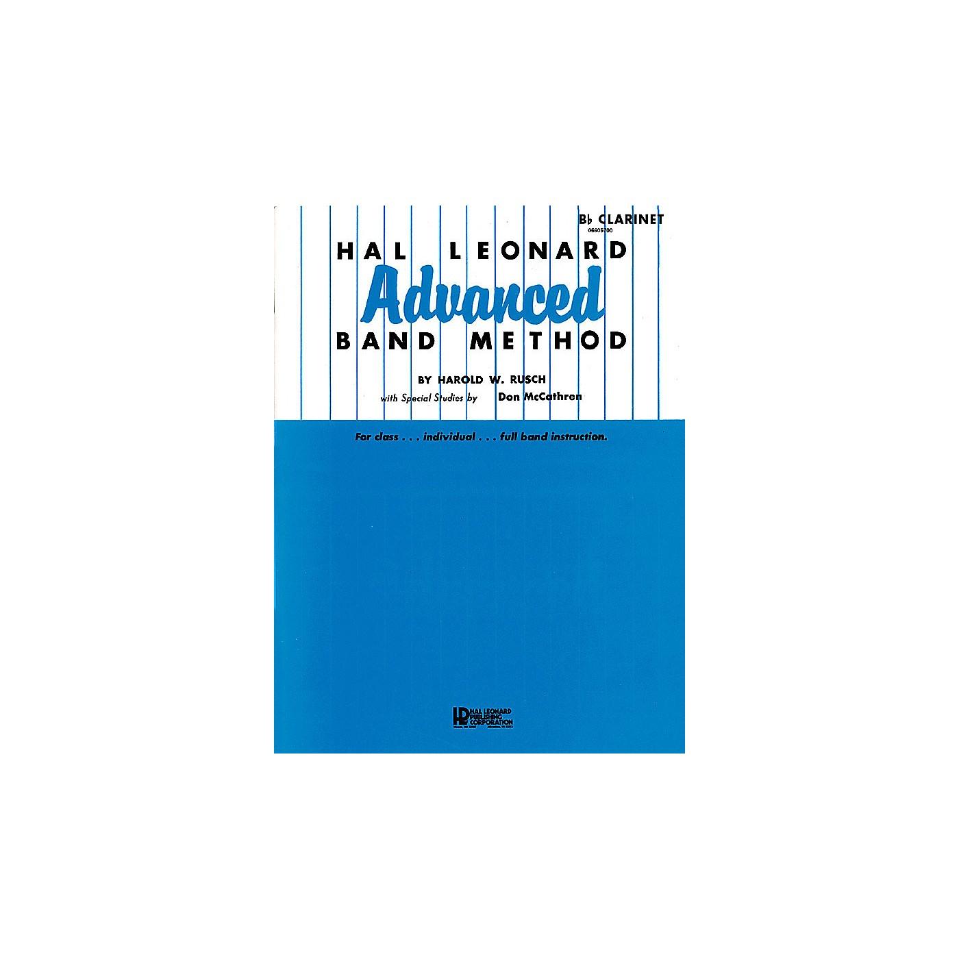 Hal Leonard Hal Leonard Advanced Band Method (Conductor) Advanced Band Method Series Composed by Harold W. Rusch thumbnail
