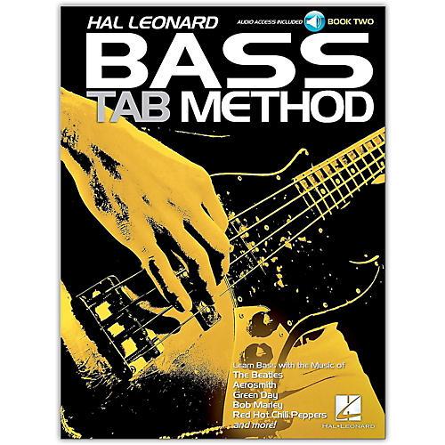 Hal Leonard Hal Leonard Bass Tab Method Book 2- Book/Online Audio thumbnail