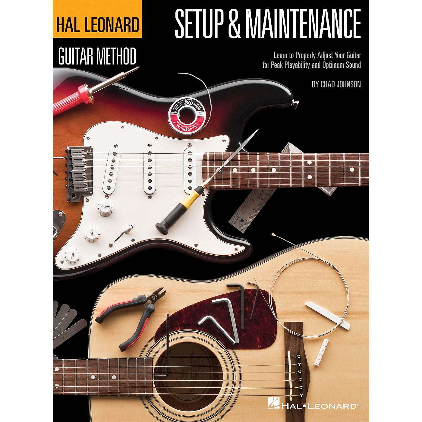 Hal Leonard Hal Leonard Guitar Method - Setup & Maintenance Guitar Method Series Softcover Written by Chad Johnson thumbnail