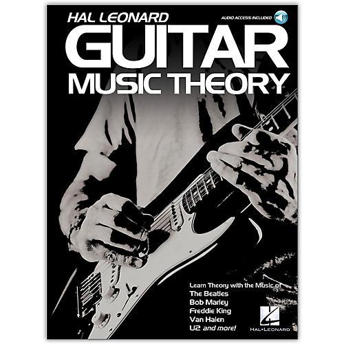 Hal Leonard Hal Leonard Guitar Music Theory Book/Audio Online with Guitar Tab thumbnail