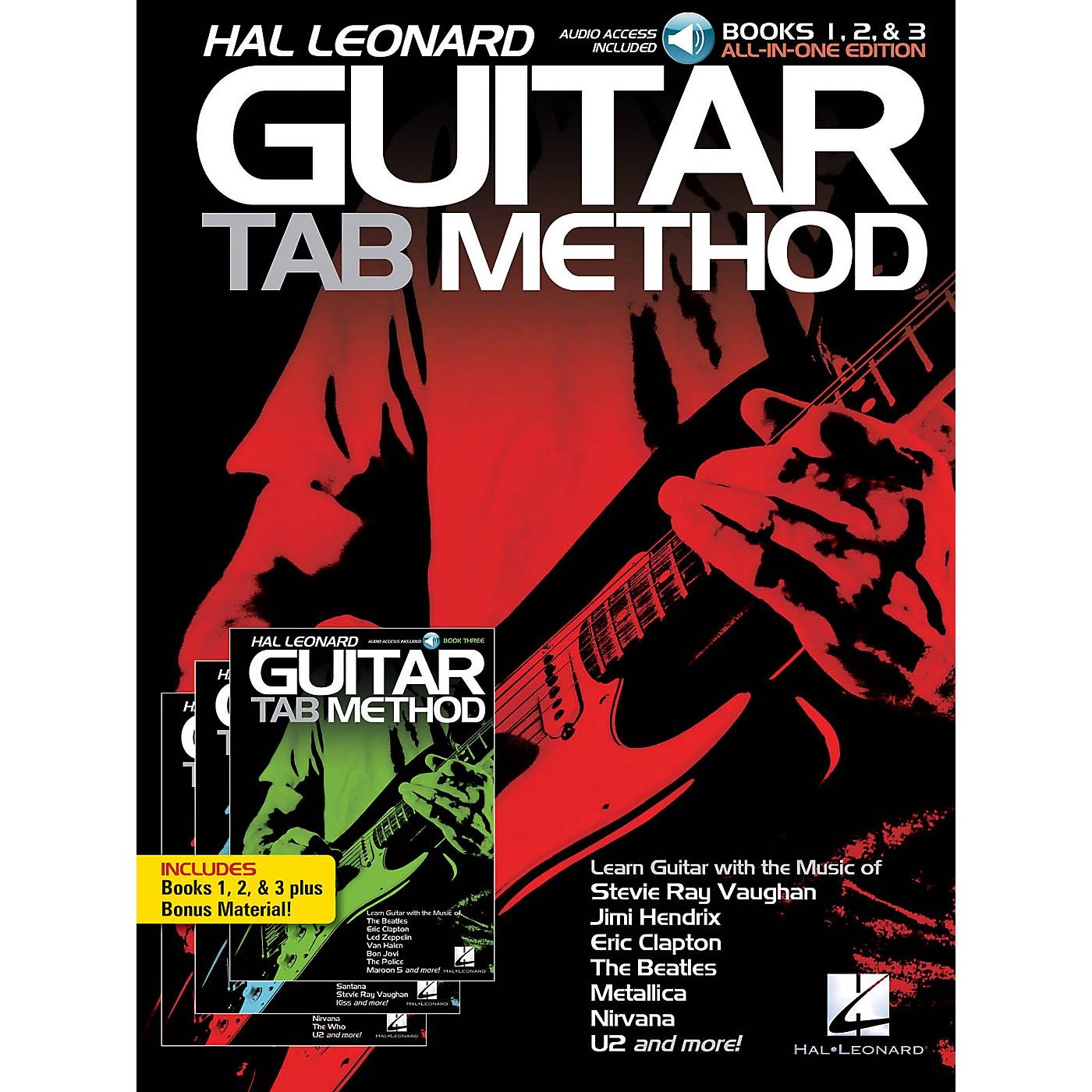 Hal Leonard Hal Leonard Guitar Tab Method: Books 1, 2 & 3 All-in-One Edition!  Book/Audio Online thumbnail