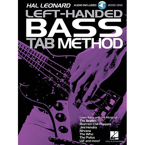 Hal Leonard Hal Leonard Left-Handed Bass Tab Method - Book 1 Guitar Tab Method BK/Audio Online by Eric W. Wills thumbnail