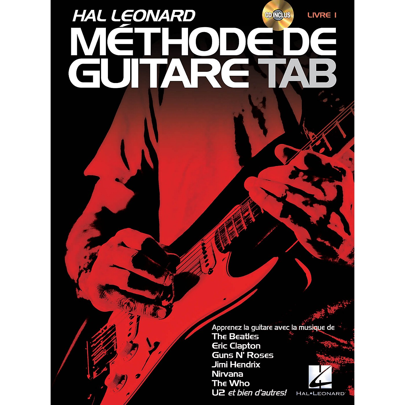 Hal Leonard Hal Leonard Méthode de Guitare Tab Guitar Tab Method Series Softcover with CD Written by Jeff Schroedl thumbnail