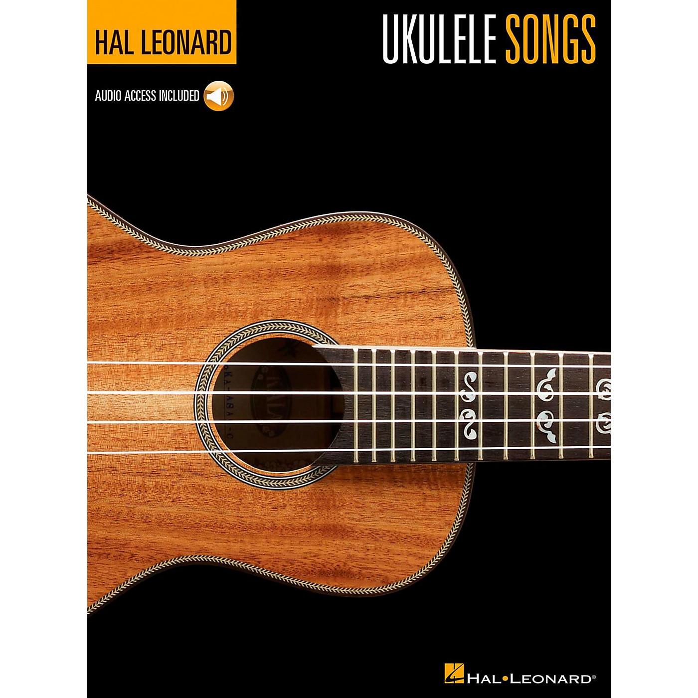 Hal Leonard Hal Leonard Ukulele Songs Book/Online Audio thumbnail