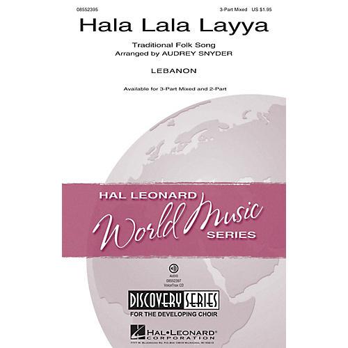 Hal Leonard Hala Lala Layya (Discovery Level 2) 3-Part Mixed arranged by Audrey Snyder thumbnail