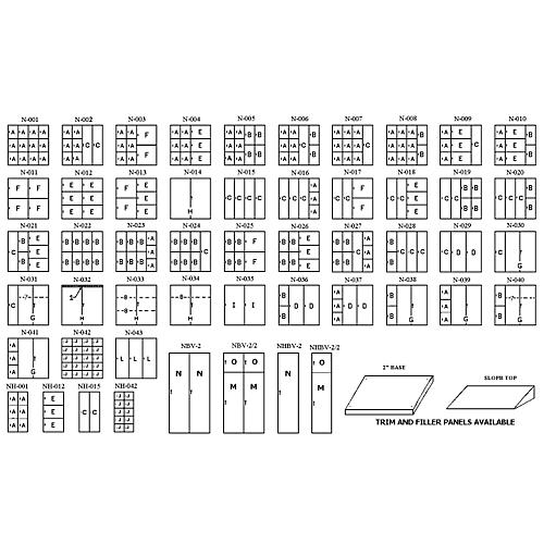 Norren Half Unit Large Instrument Storage Cabinet thumbnail