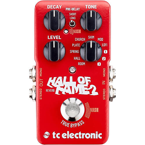 TC Electronic Hall of Fame 2 Reverb Effects Pedal thumbnail