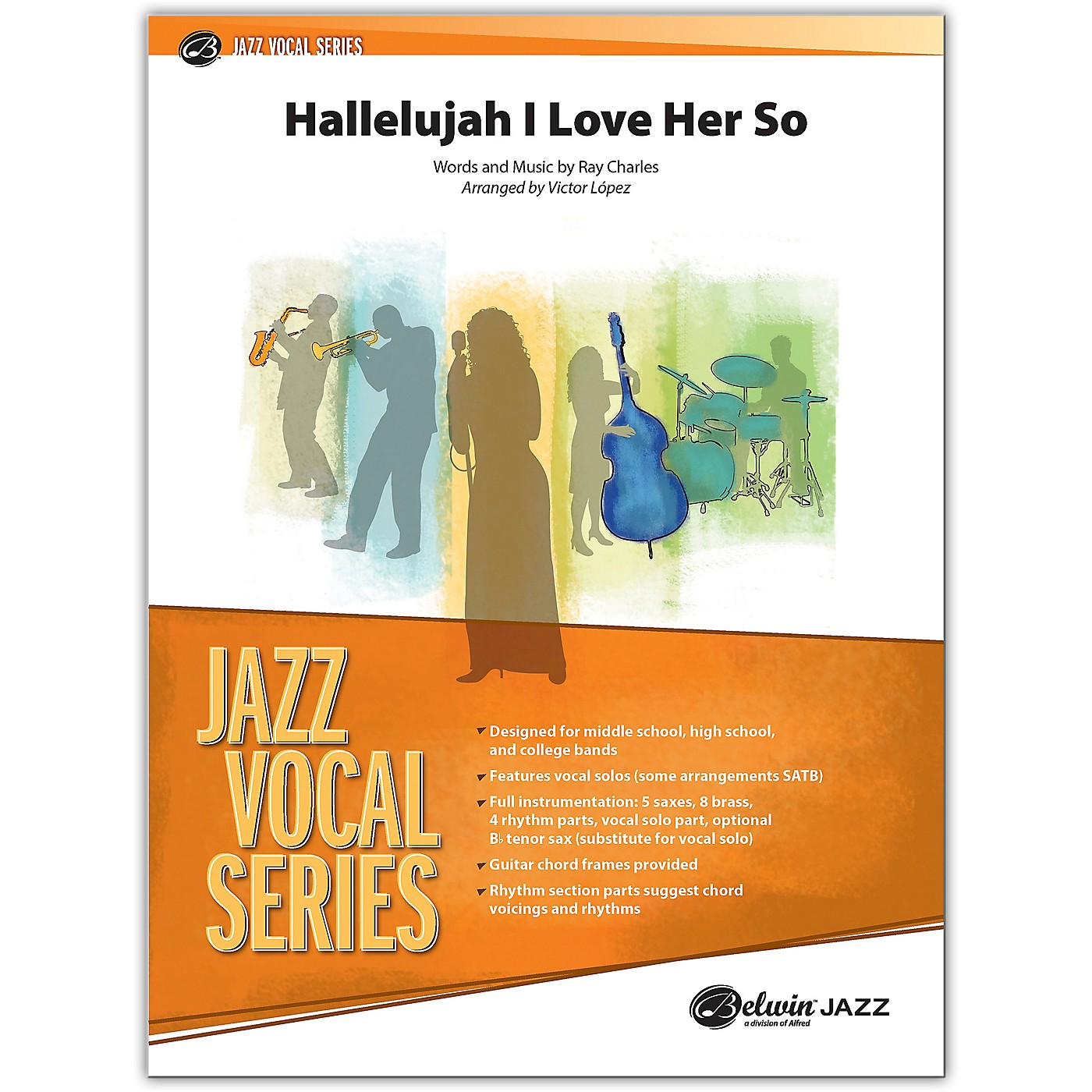 BELWIN Hallelujah I Love Her So Conductor Score 3 (Medium) thumbnail