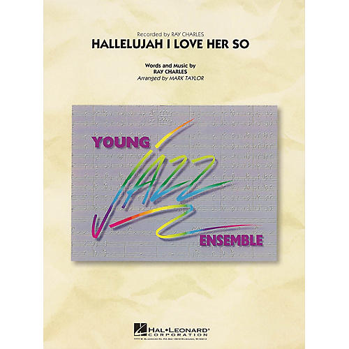 Hal Leonard Hallelujah I Love Her So Jazz Band Level 3 by Ray Charles Arranged by Mark Taylor thumbnail