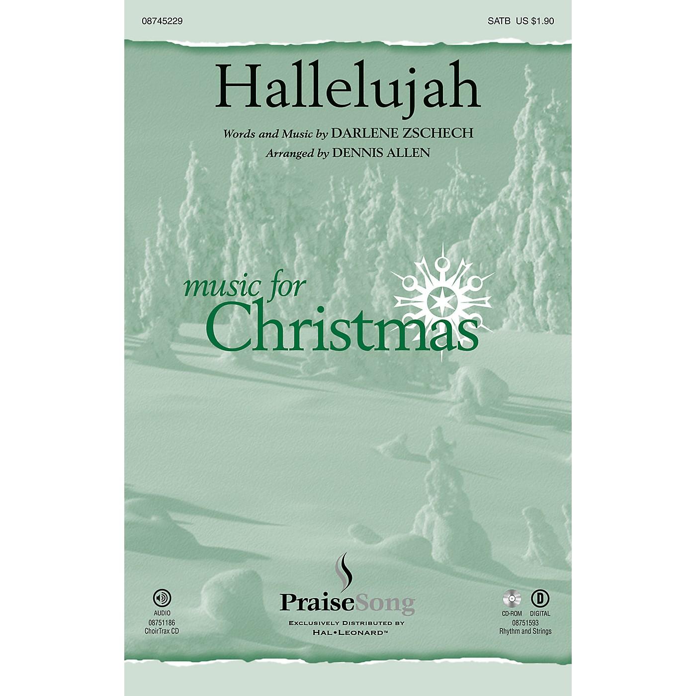PraiseSong Hallelujah SATB by Darlene Zschech arranged by Dennis Allen thumbnail