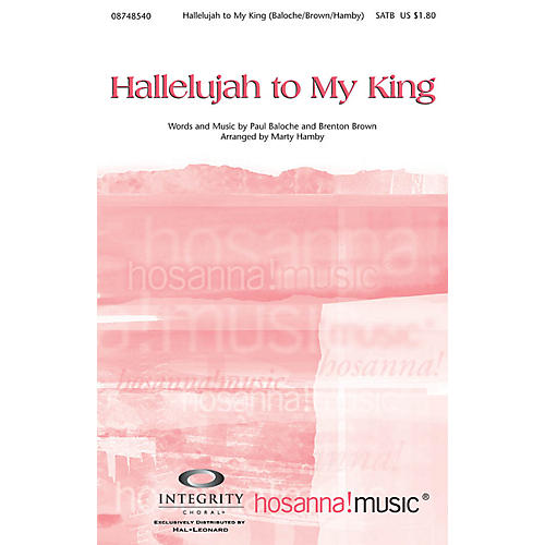 Integrity Music Hallelujah to My King Orchestra Arranged by Marty Hamby thumbnail