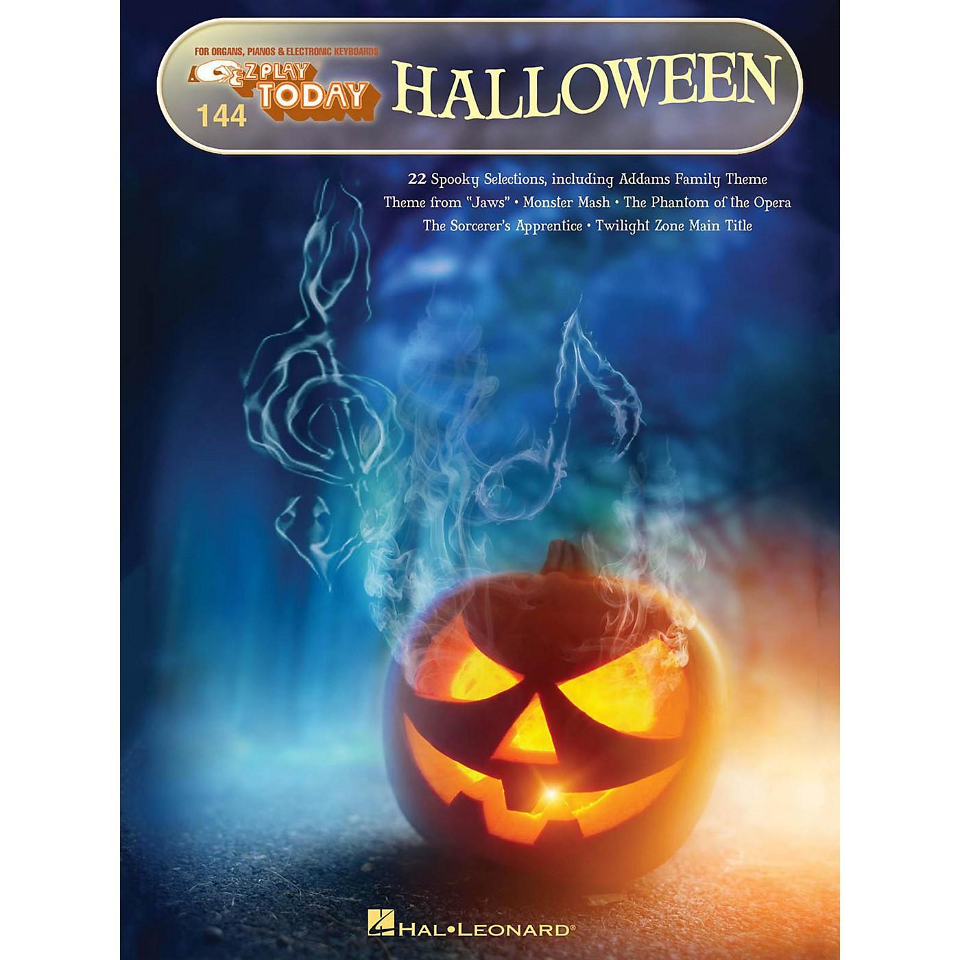 Hal Leonard Halloween E-Z Play Today Volume 144 thumbnail