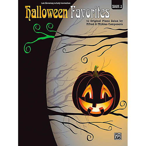 Alfred Halloween Favorites, Book 3 Late Elementary / Early Intermediate thumbnail