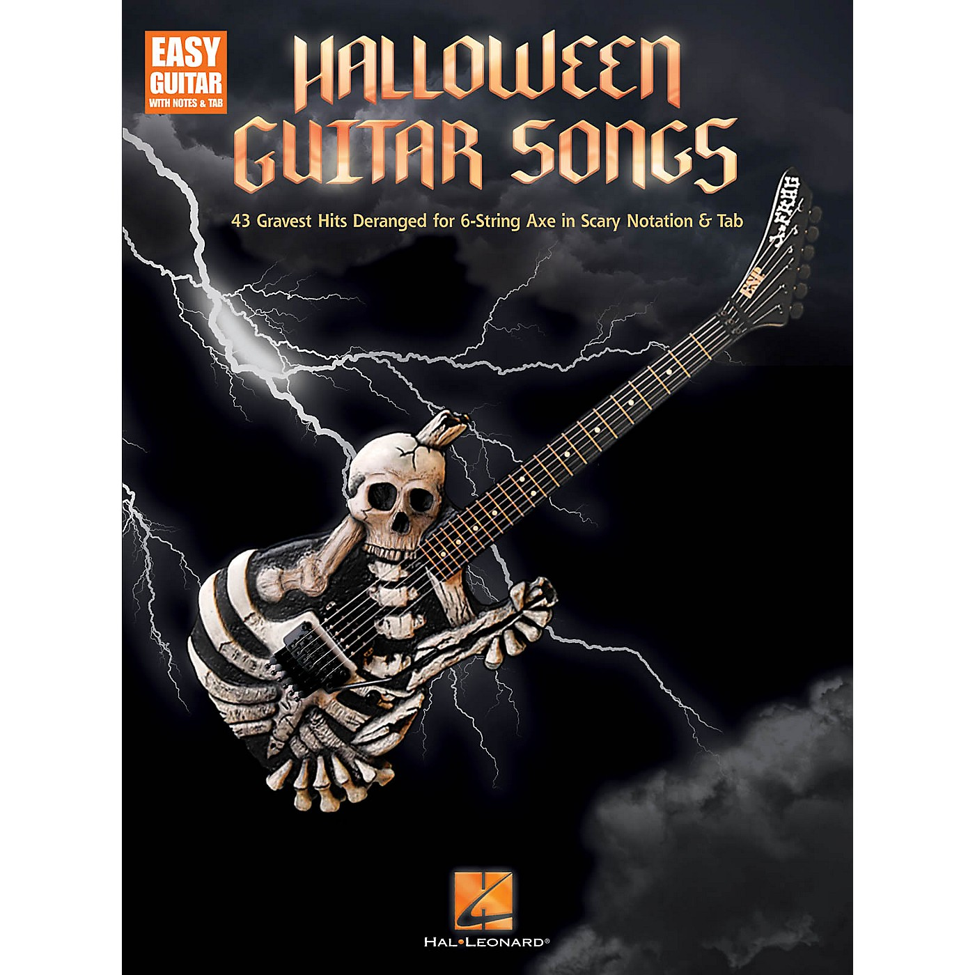 Hal Leonard Halloween Guitar Songs Easy Guitar Series Softcover Performed by Various thumbnail