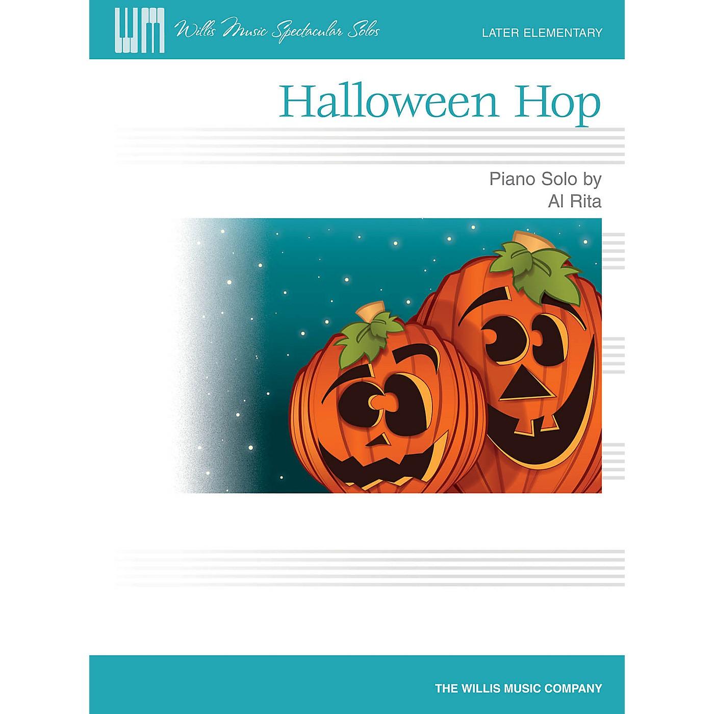 Willis Music Halloween Hop (Willis Music Spectacular Solos/Later Elem Level) Willis Series by Al Rita thumbnail