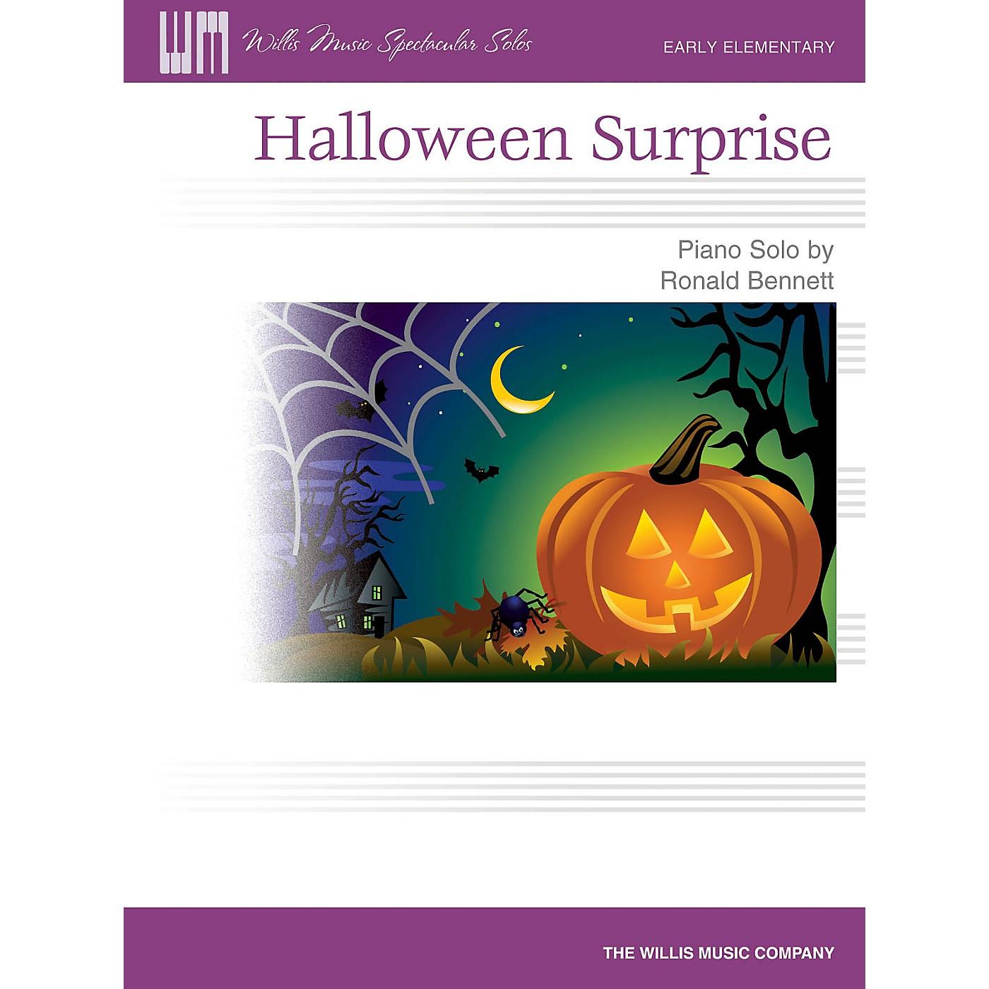 Willis Music Halloween Surprise (Early Elem Level) Willis Series by Ronald Bennett thumbnail