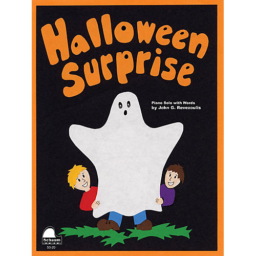 SCHAUM Halloween Surprise Educational Piano Series Softcover thumbnail