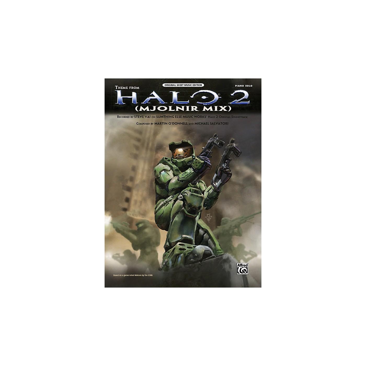Alfred Halo 2 Theme (Mjolnir Mix)  Piano Solo thumbnail