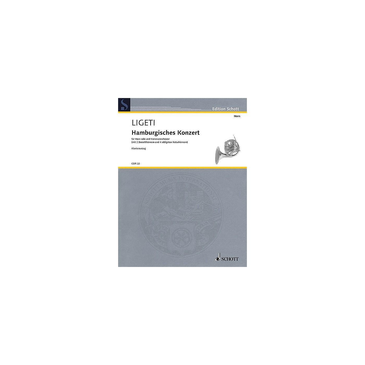 Schott Hamburg Concerto Brass Solo Series Softcover thumbnail