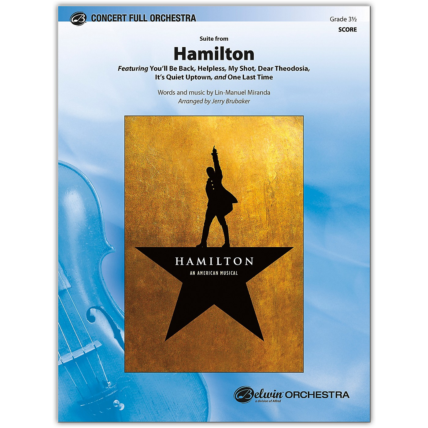 BELWIN Hamilton, Suite from Conductor Score 3.5 thumbnail