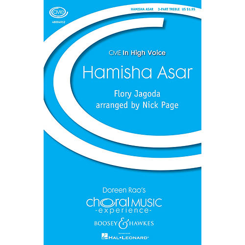 Boosey and Hawkes Hamisha Asar (CME In High Voice) 3 Part Treble composed by Flory Jagoda arranged by Nick Page thumbnail