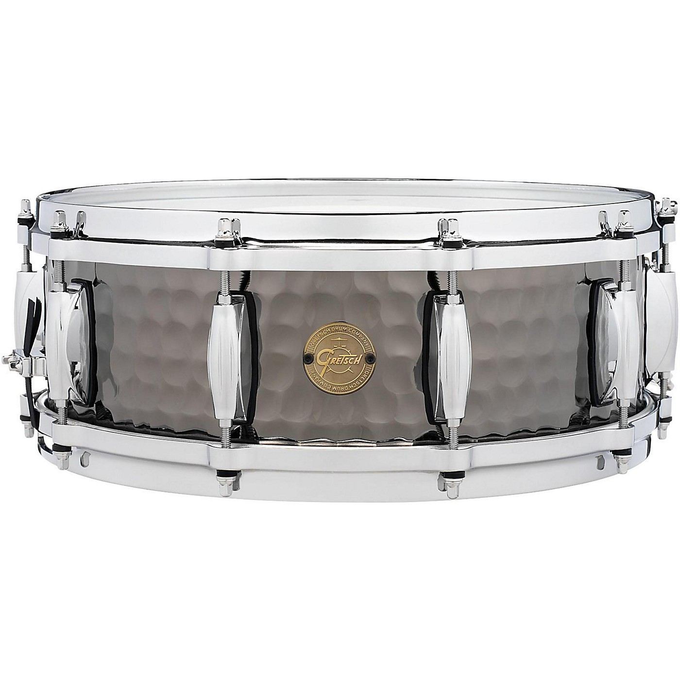 Gretsch Drums Hammered Black Steel Snare thumbnail